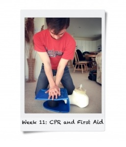 Week 11: Learn CPR and First Aid
