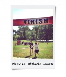 Week 25: Run an Obstacle Course