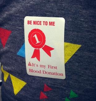 blooddonorsticker