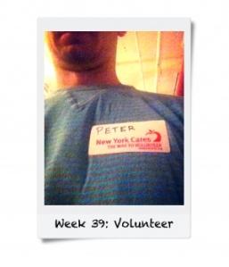 Week 39: Volunteer