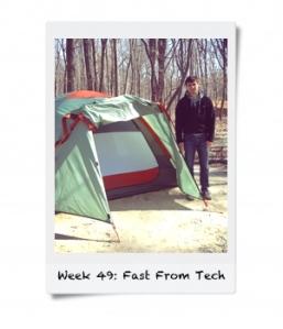 Week 49: Fast From Tech